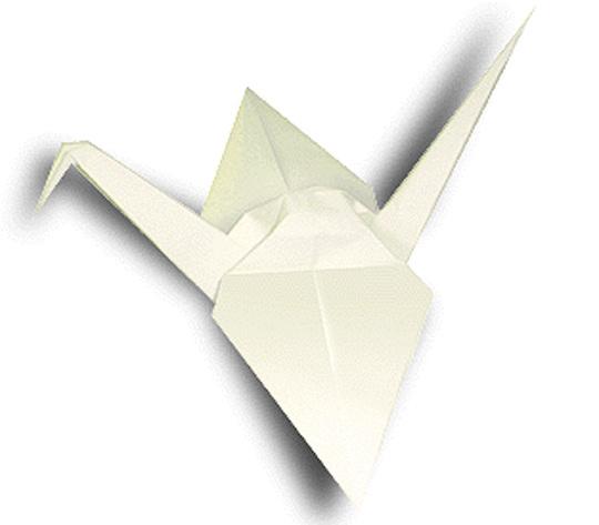 オリカタ公式さんによる《伝承》鶴の折り紙