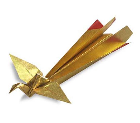 オリカタ公式さんによる《伝承》鳳凰の折り紙