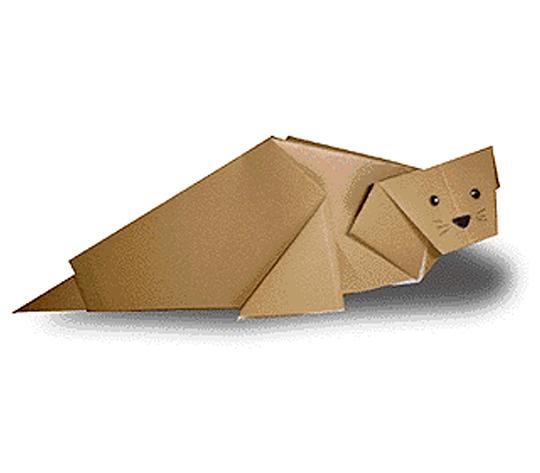 おりがみくらぶ(新宮文明)さんによるあらざしの折り紙