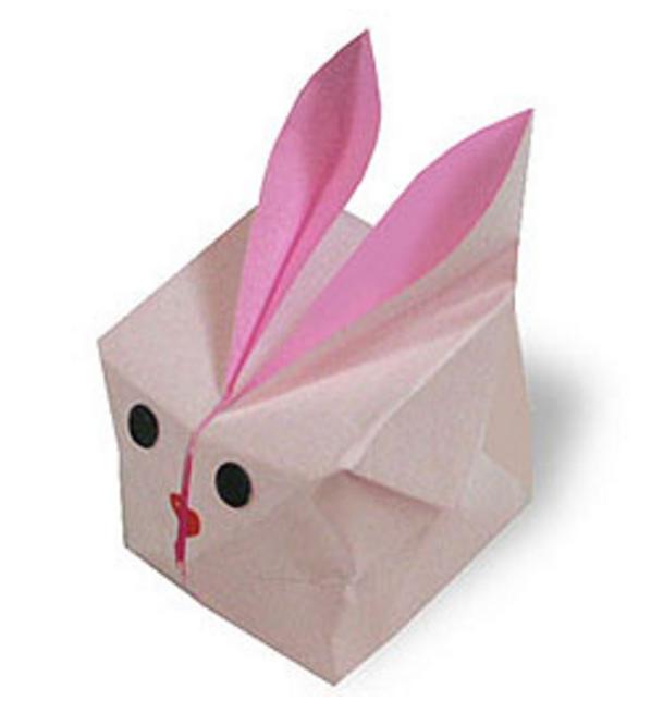 オリカタ公式さんによる《伝承》風船うさぎの折り紙