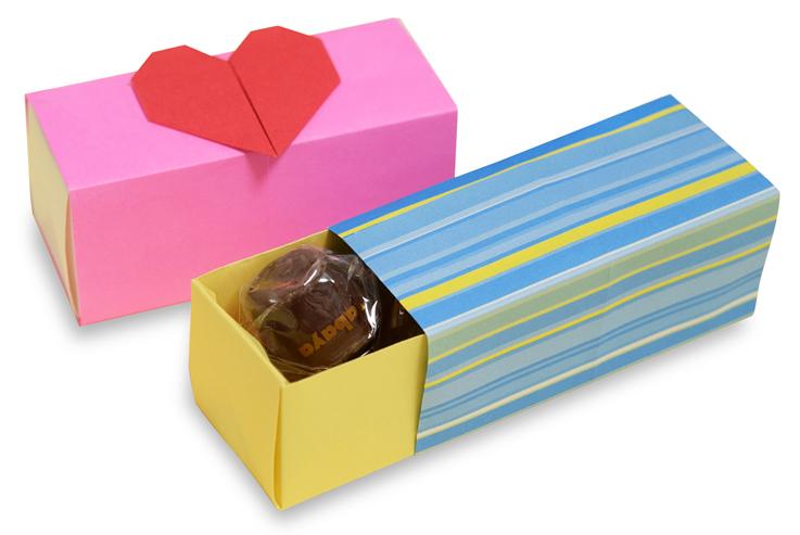 おりがみくらぶ(新宮文明)さんによるひきだしぼっくすの折り紙