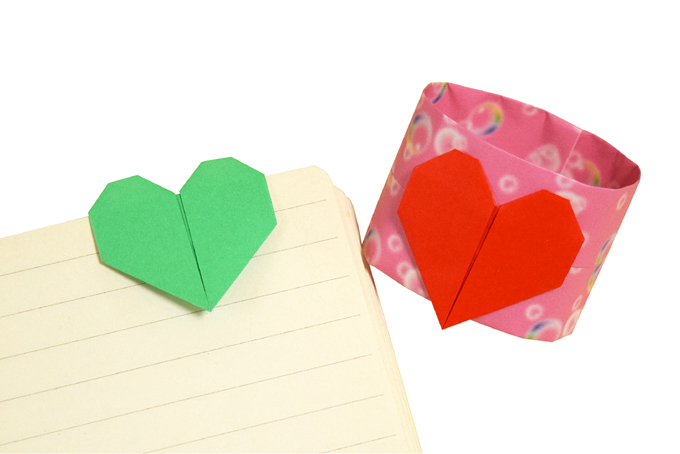 おりがみくらぶ(新宮文明)さんによるさしこみはーと2の折り紙