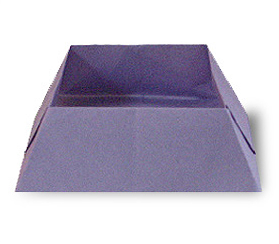 オリカタ公式さんによる《伝承》菓子箱の折り紙