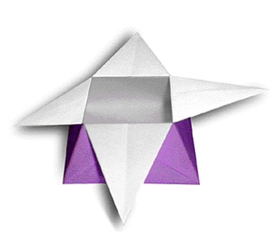オリカタ公式さんによる《伝承》飾り箱の折り紙