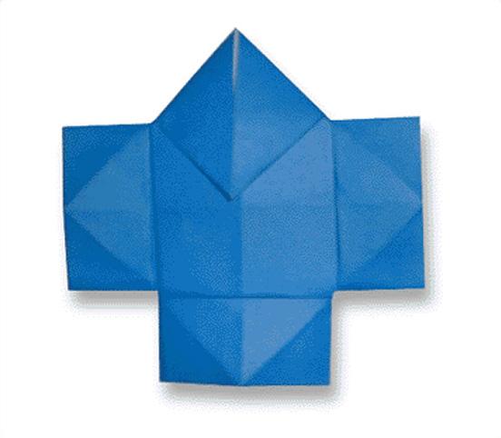 オリカタ公式さんによる《伝承》奴さんの折り紙