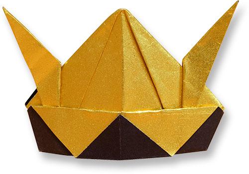 おりがみくらぶ(新宮文明)さんによるかぶと2の折り紙