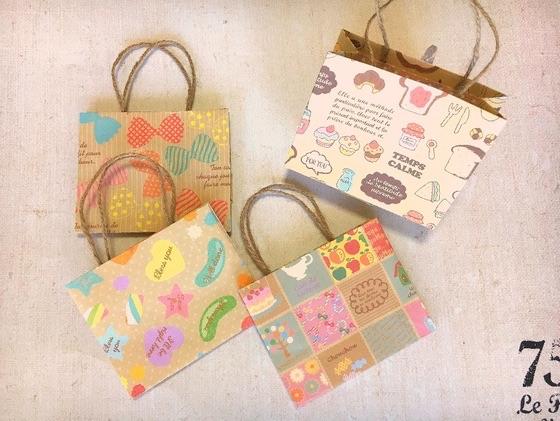 Oriya小町さんによる折り紙バッグの折り紙