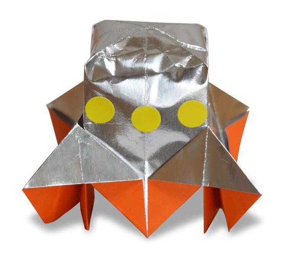 おりがみくらぶ(新宮文明)さんによるUFO2の折り紙