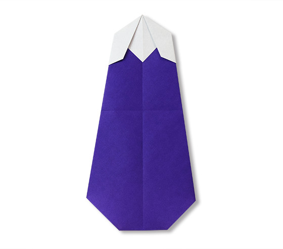おりがみくらぶ(新宮文明)さんによるなすび2の折り紙