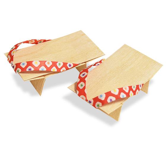 おりがみくらぶ(新宮文明)さんによるげたの折り紙