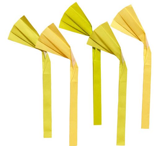 おりがみくらぶ(新宮文明)さんによるすすきの折り紙