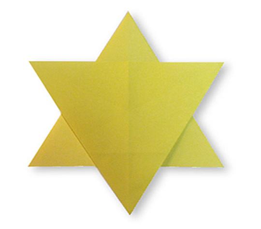 おりがみくらぶ(新宮文明)さんによる2まいぼしの折り紙