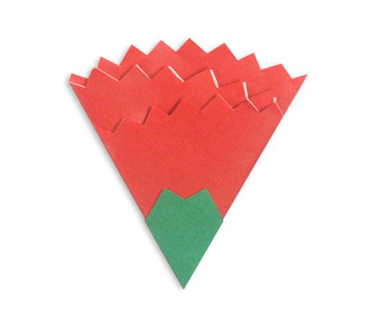おりがみくらぶ(新宮文明)さんによるかーねーしょん2の折り紙