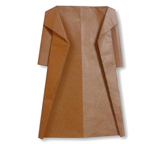 おりがみくらぶ(新宮文明)さんによるこーとの折り紙