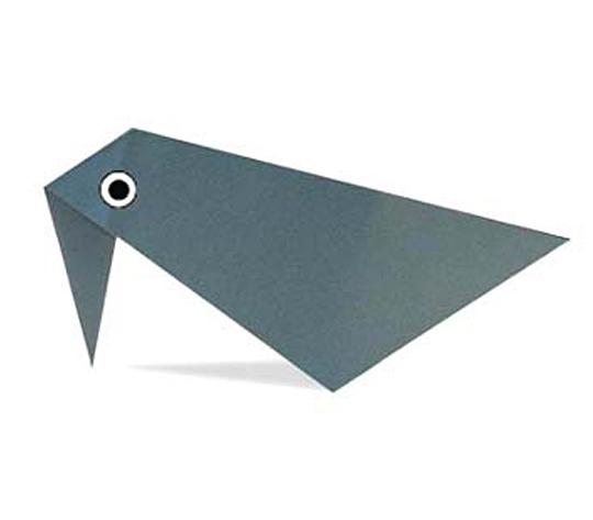 おりがみくらぶ(新宮文明)さんによるこんぺいからすの折り紙