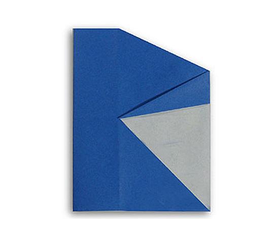 おりがみくらぶ(新宮文明)さんによるR(あーる)の折り紙
