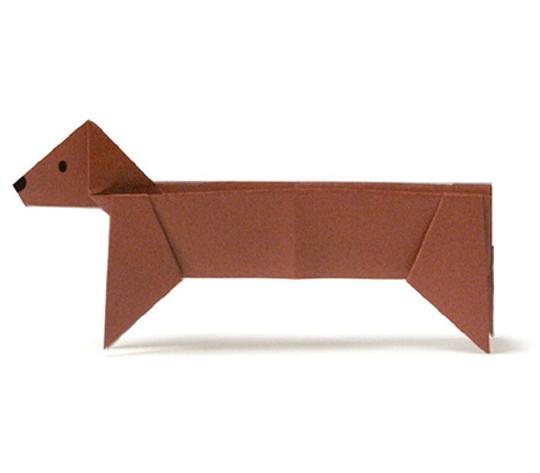 おりがみくらぶ(新宮文明)さんによるだっくすふんどの折り紙