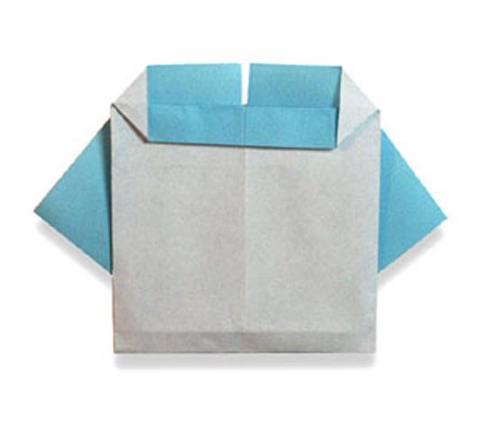 おりがみくらぶ(新宮文明)さんによるようじふくの折り紙
