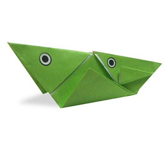 おりがみくらぶ(新宮文明)さんによるおんぶばったの折り紙