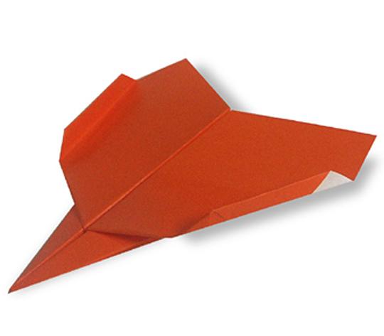 おりがみくらぶ(新宮文明)さんによるひこうき4の折り紙