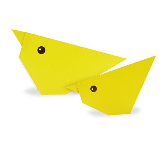 おりがみくらぶ(新宮文明)さんによるひよこの折り紙