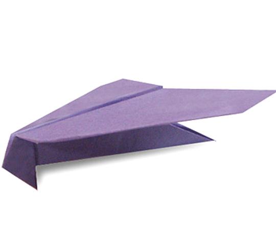 おりがみくらぶ(新宮文明)さんによるとんびひこうきの折り紙