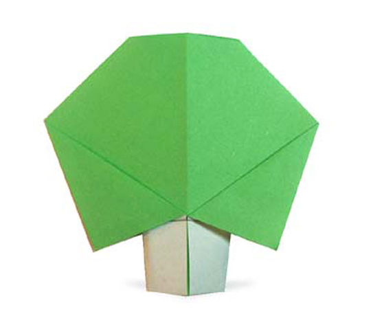 おりがみくらぶ(新宮文明)さんによるき1の折り紙