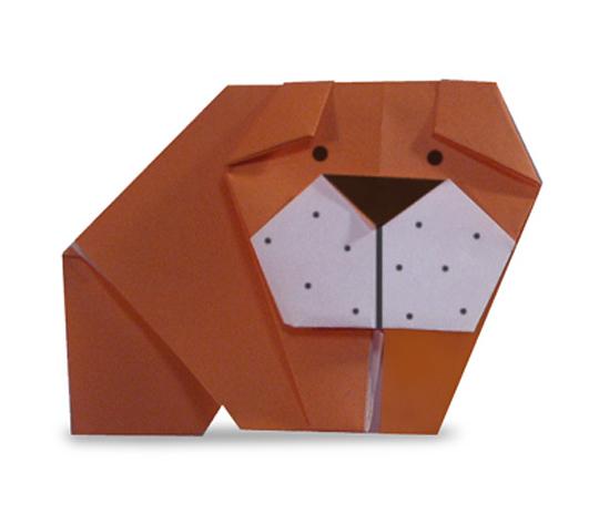 おりがみくらぶ(新宮文明)さんによるぶるどっぐの折り紙