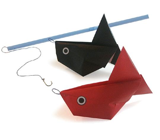 おりがみくらぶ(新宮文明)さんによるふうせんきんぎょの折り紙
