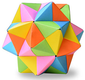 おりがみくらぶ(新宮文明)さんによるシンプルの折り紙
