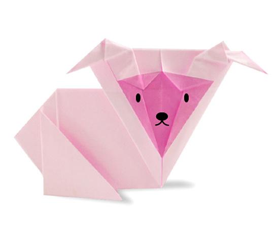 おりがみくらぶ(新宮文明)さんによるひつじ4の折り紙