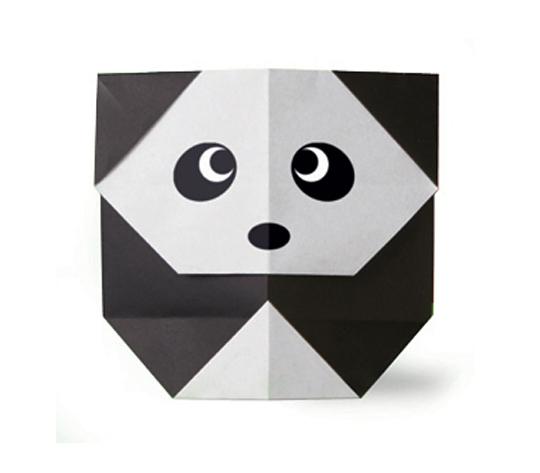 おりがみくらぶ(新宮文明)さんによるぱんだの折り紙