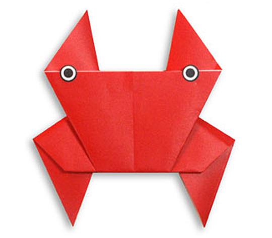 おりがみくらぶ(新宮文明)さんによるかに2の折り紙