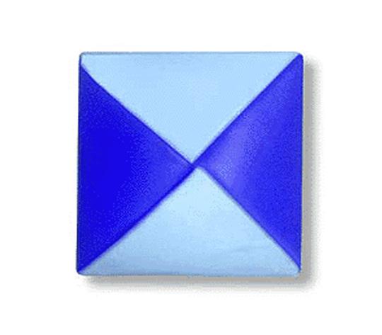 オリカタ公式さんによる【伝承】めんこの折り紙