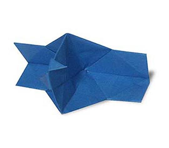 オリカタ公式さんによる【伝承】ぱっちりカメラの折り紙