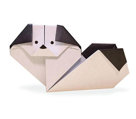 おりがみくらぶ(新宮文明)さんによるちんの折り紙