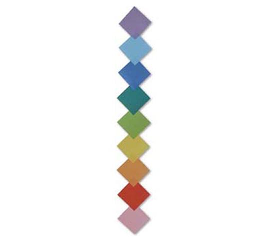 おりがみくらぶ(新宮文明)さんによるひしがたつづりの折り紙