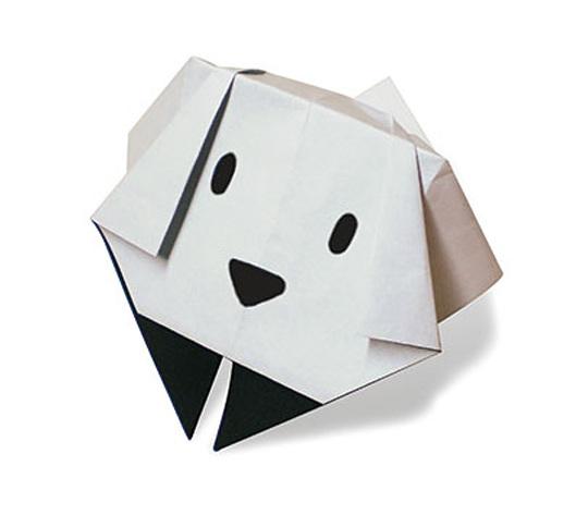 おりがみくらぶ(新宮文明)さんによるいぬ5の折り紙