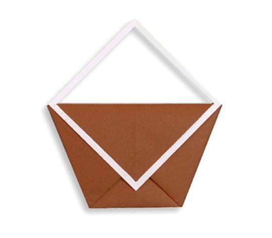 おりがみくらぶ(新宮文明)さんによるばっぐの折り紙