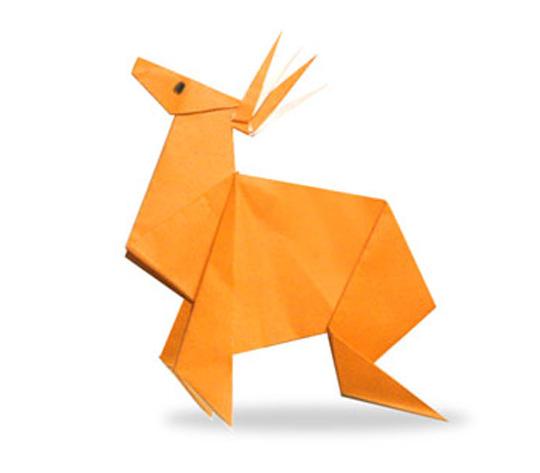 おりがみくらぶ(新宮文明)さんによるとなかいの折り紙