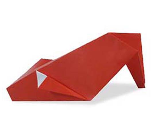 おりがみくらぶ(新宮文明)さんによるはいひーるの折り紙