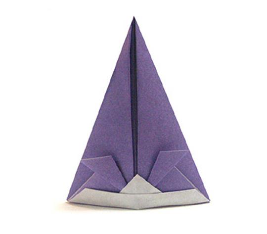 オリカタ公式さんによる【伝承】長兜の折り紙