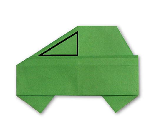 おりがみくらぶ(新宮文明)さんによるくるま 2の折り紙