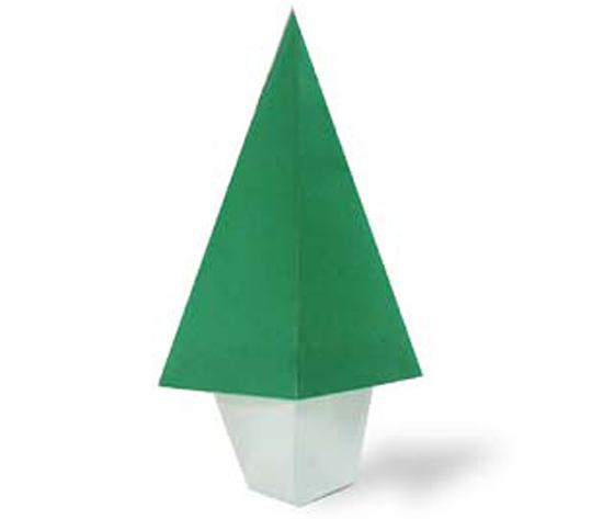 おりがみくらぶ(新宮文明)さんによるき2の折り紙