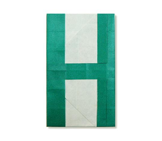 おりがみくらぶ(新宮文明)さんによるH(えいち)の折り紙
