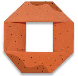 おりがみくらぶ(新宮文明)さんによるどーなつの折り紙