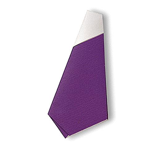 おりがみくらぶ(新宮文明)さんによるなすびの折り紙