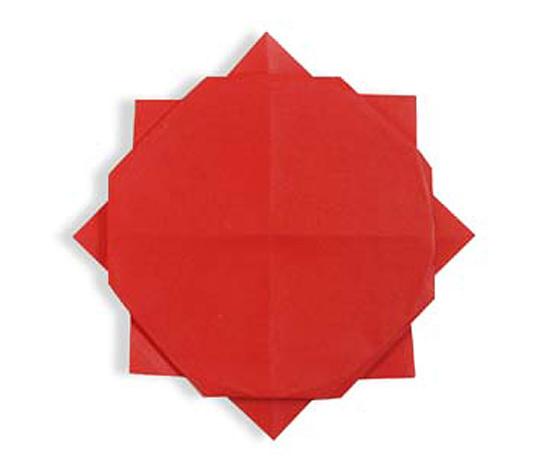 おりがみくらぶ(新宮文明)さんによるたいようの折り紙