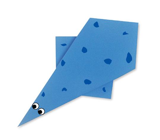 おりがみくらぶ(新宮文明)さんによるぷれしおさうるすの折り紙