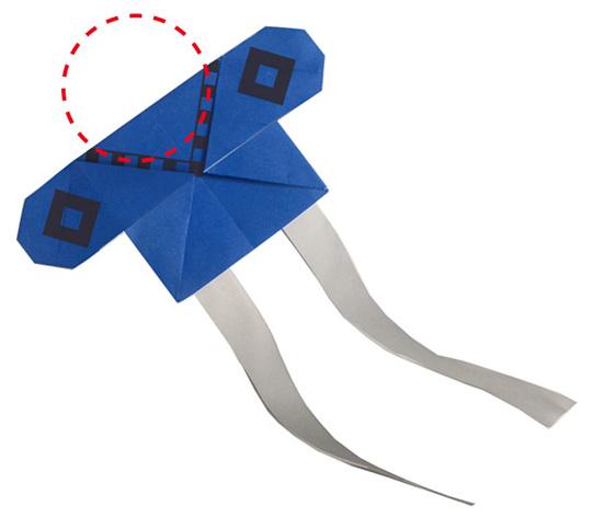 おりがみくらぶ(新宮文明)さんによるやっこだこの折り紙